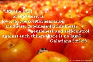 Galatians 5.22